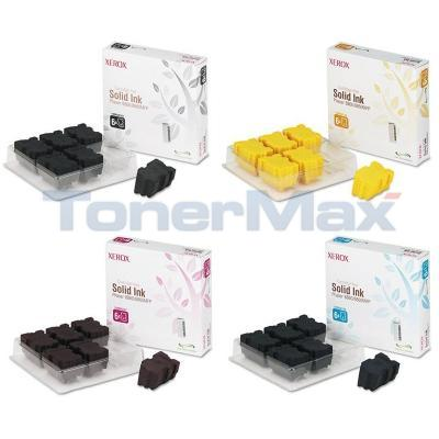 XEROX PHASER 8860 SOLID INK BUNDLE PACK (BLACK, CYAN, MAGENTA, YELLOW)